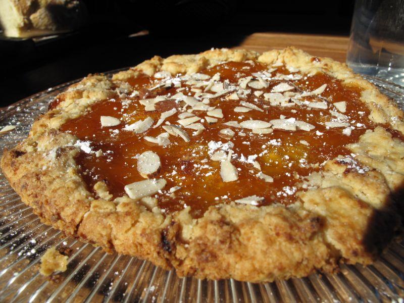 Apricot Jam Crostada