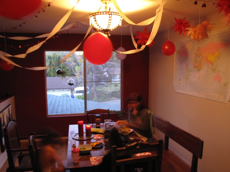 Valentines Day Dining Room