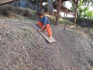 Surfing in the dirt
